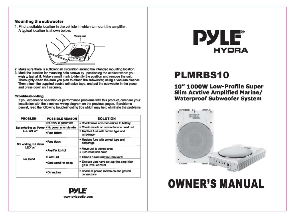 Diagram  Amazon Com Pyle Plta580 2 Wiring Diagram Full