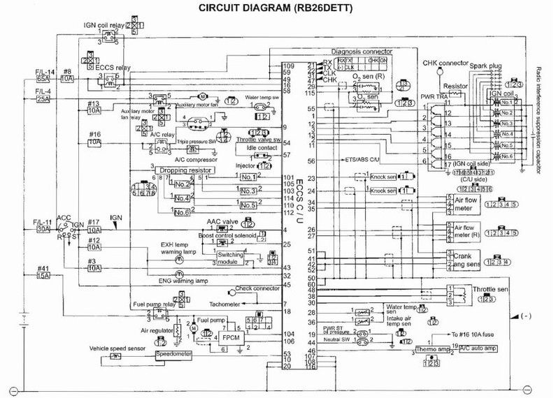 R33 Ignition Wiring Diagram on