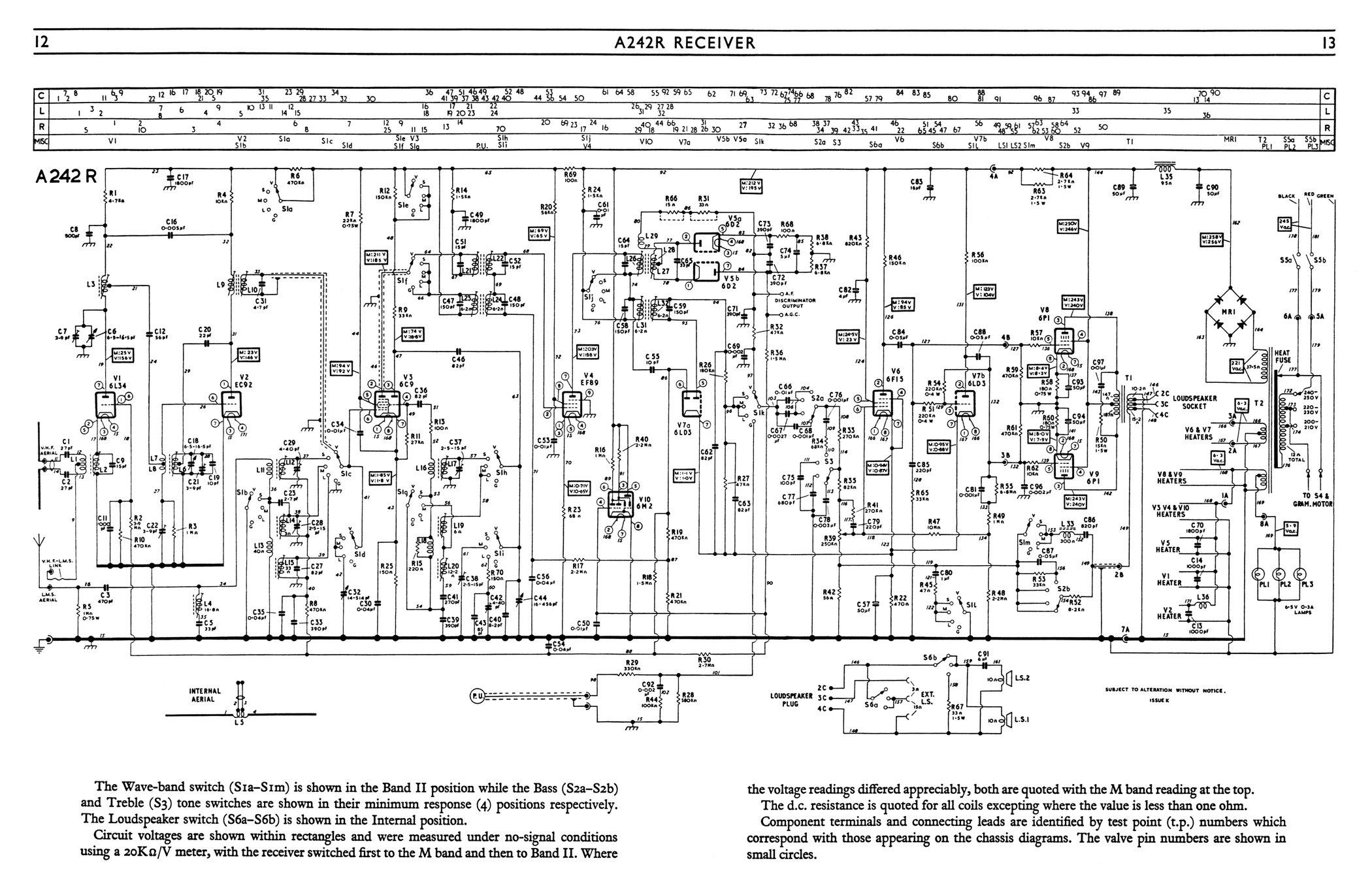 Radiogram Wiring Diagram