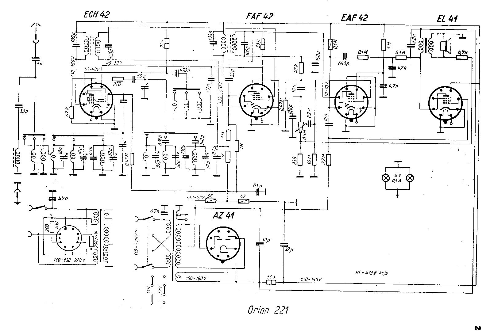 Radiogram Wiring Diagram
