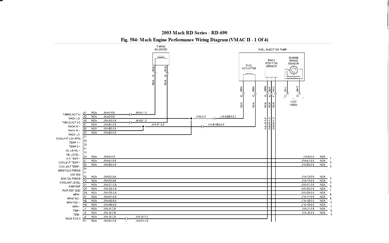 Mack Cv713 Wiring Diagram from diagramweb.net