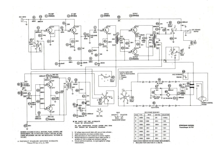Record 8100 Wiring Diagram