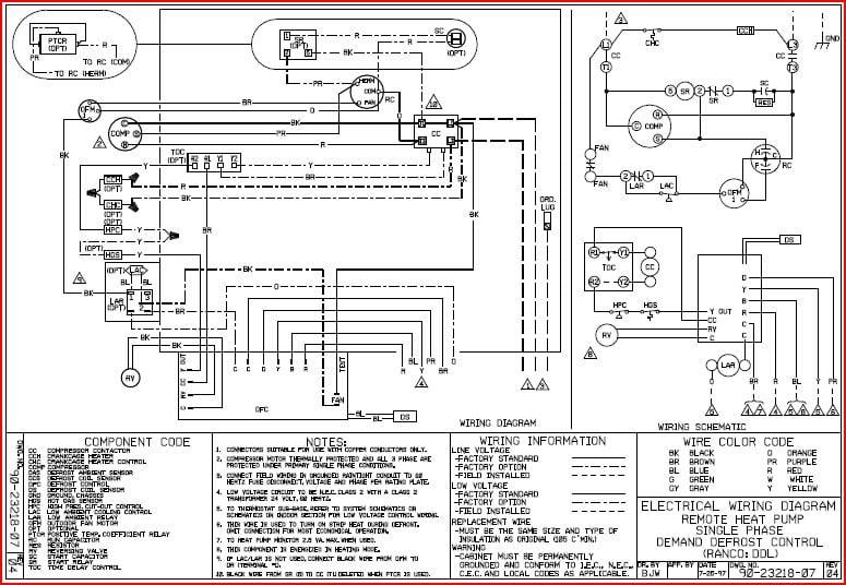 Rheem Fan Motor Wiring Diagram from diagramweb.net