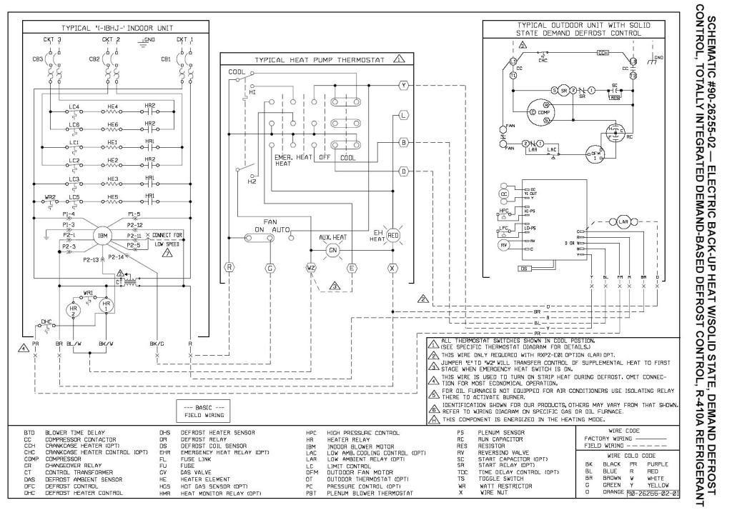 Rheem Air Handler Wiring Schematic on