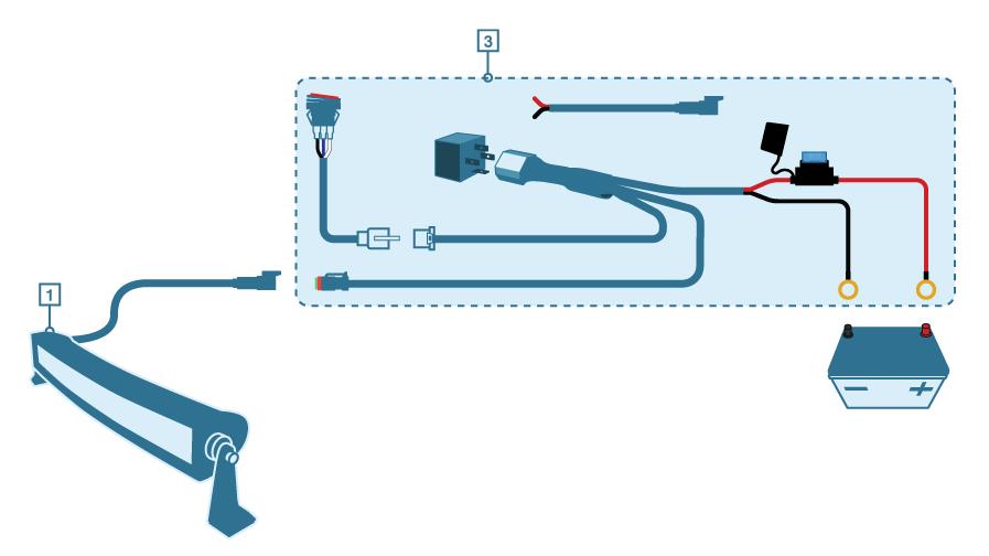 Rigidhorse Light Bar Wiring Diagram