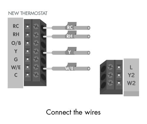 Round Nest Thermostat Honeywell Wiring Diagram For Heatpumps With X2 Terminal
