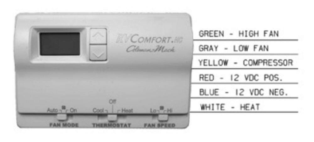 Rv Comfort Hp Thermostat Wiring Diagram