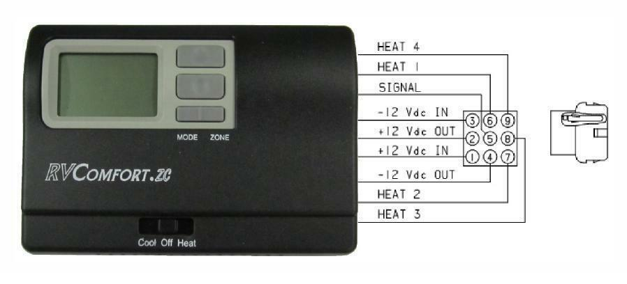 Rv Comfort Hp Thermostat Wiring Diagram