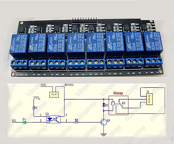 Sainsmart Relay Wiring Diagram