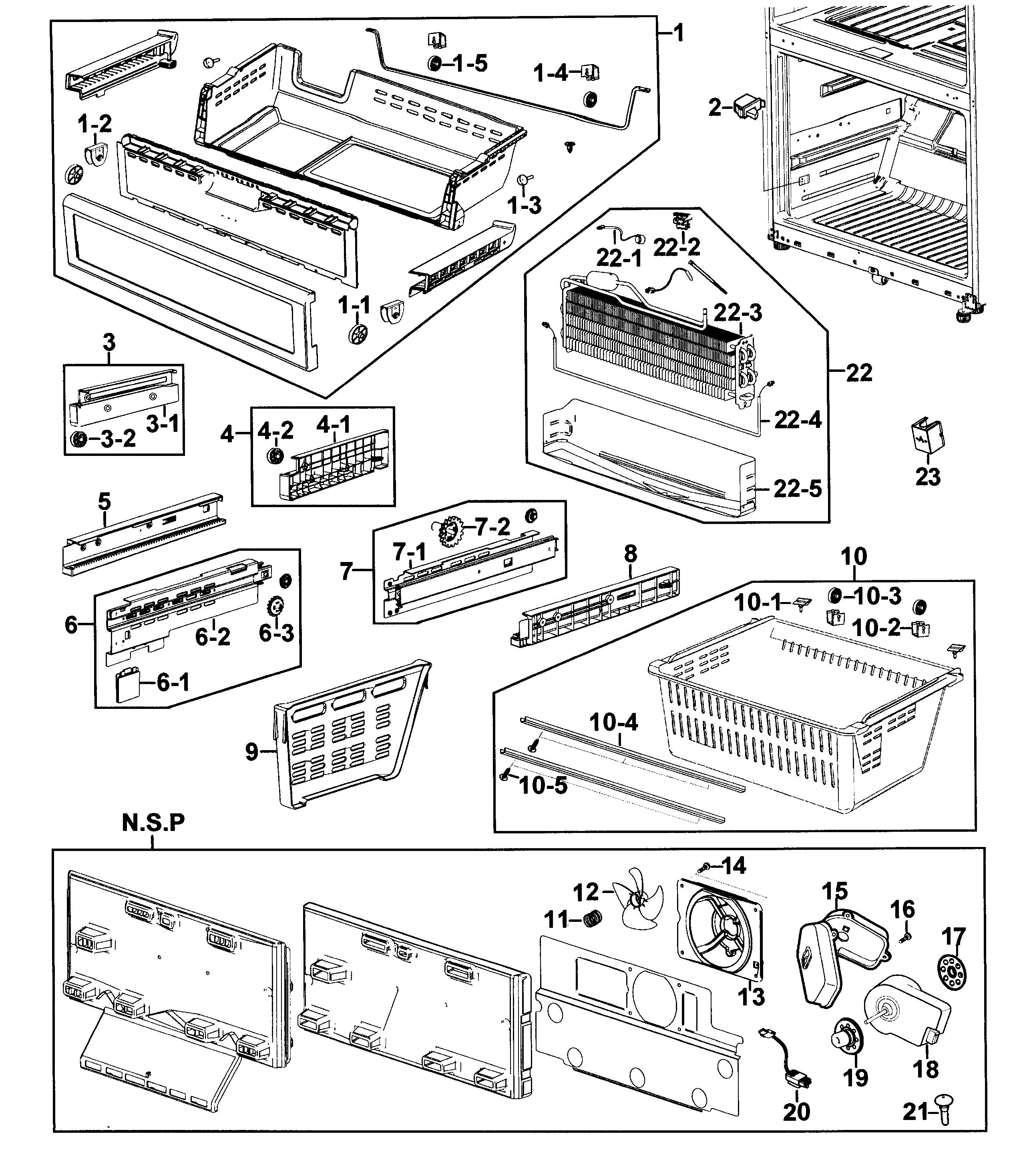 samsung rf267aers wiring diagram