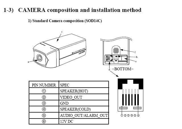 Samsung Sod14c Wiring Diagram