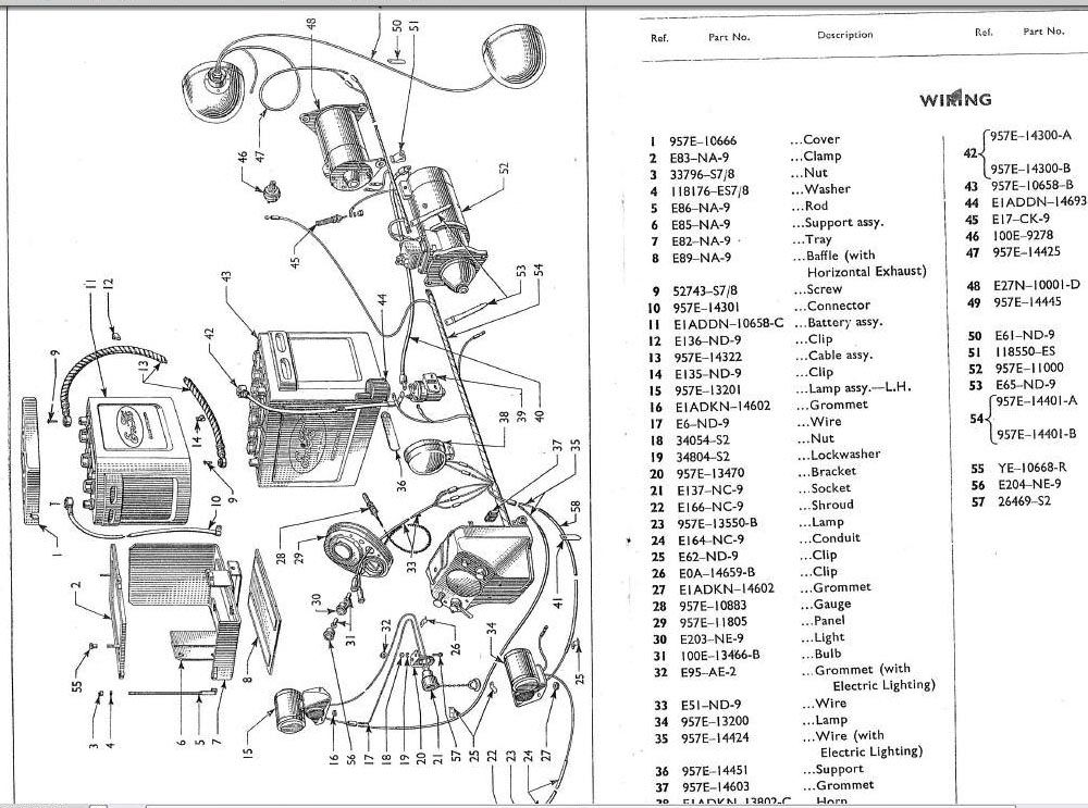 Sears Tractor 6600 Wiring Diagram