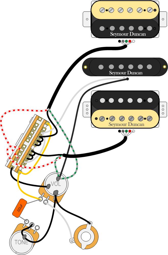 Seymour Duncan Hsh Wiring Diagram