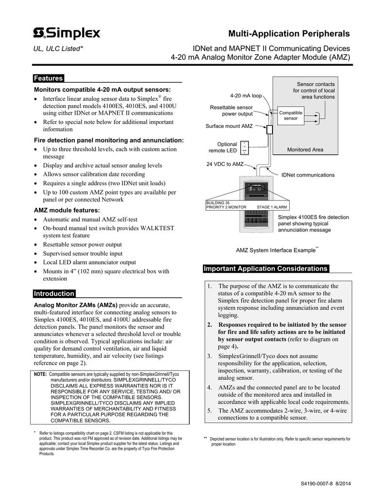 Simplex 4100 Wiring Diagram