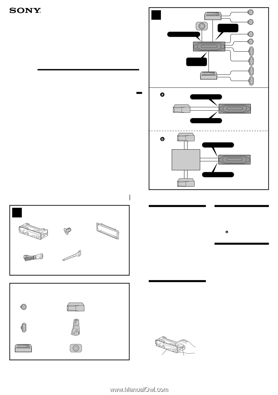 Sony Cdx Wiring Diagram from diagramweb.net