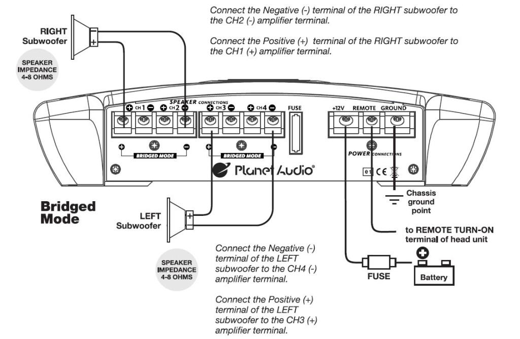 Diagram 25x4 Sony Xplod Wiring