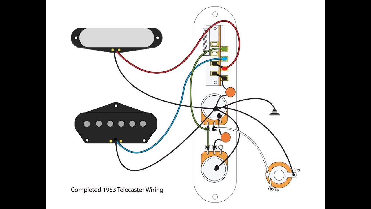 Factory Telecaster Wirings Pt 2 Manual Guide
