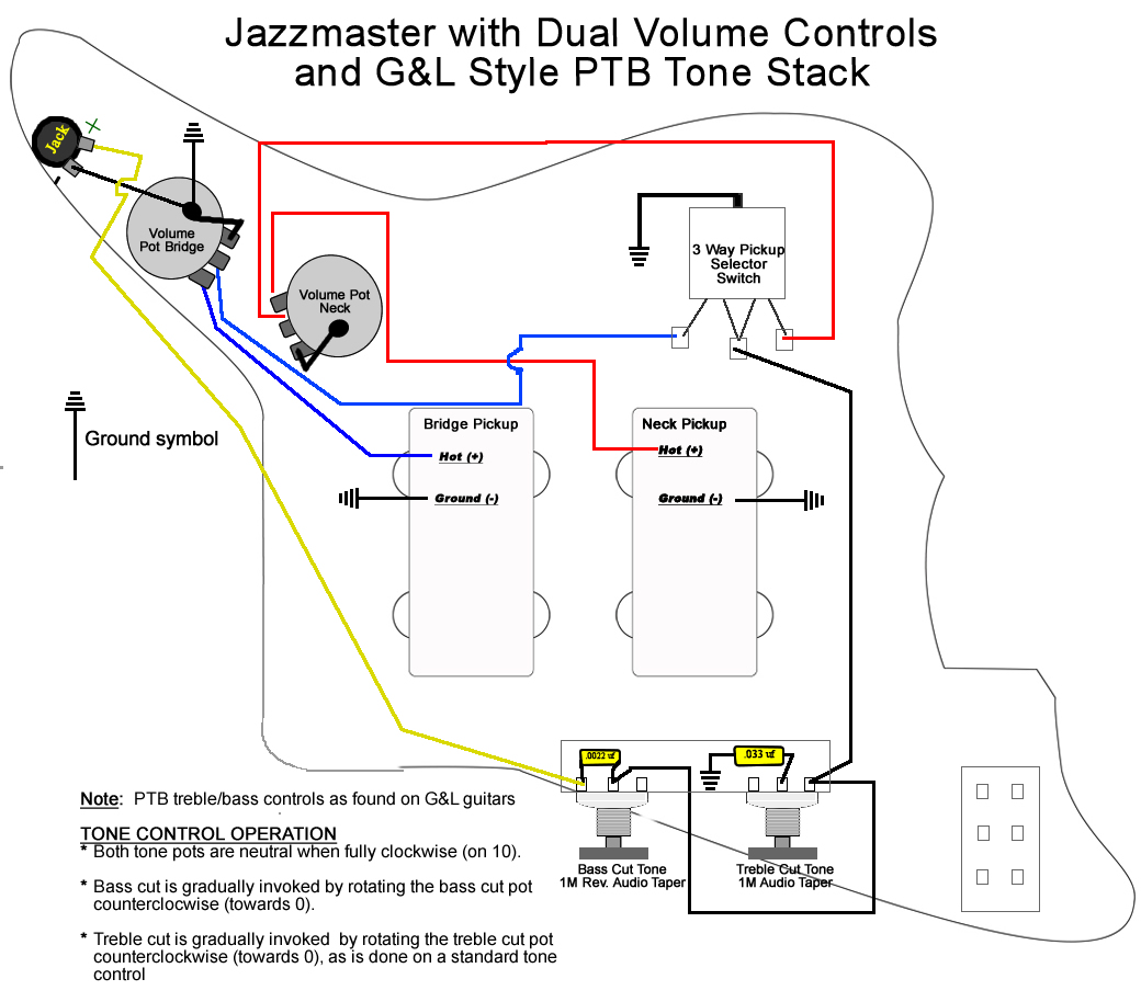 Squier Vintage Modified Jaguar Wiring Diagram
