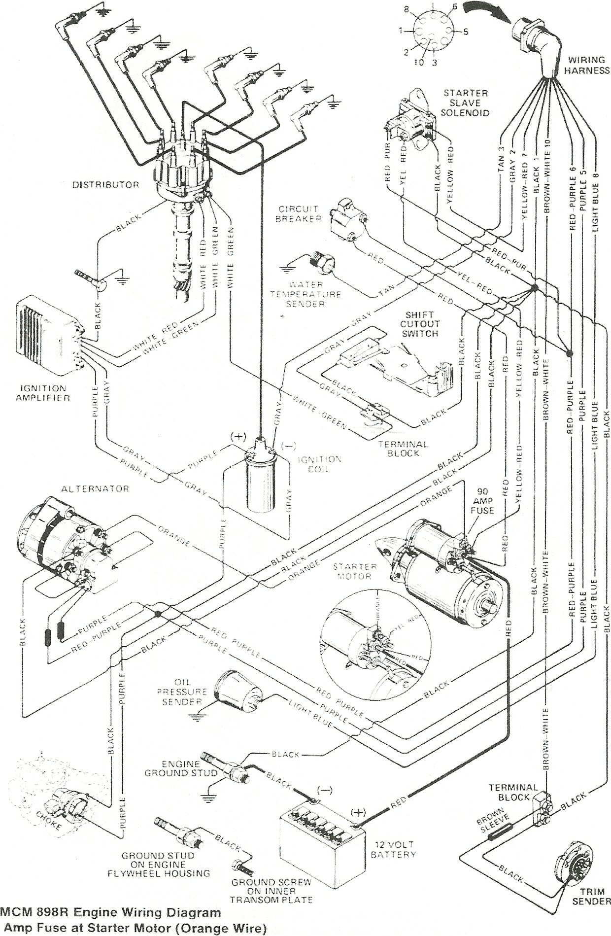 Starter Wiring Diagram Searay 5 0l Mpi