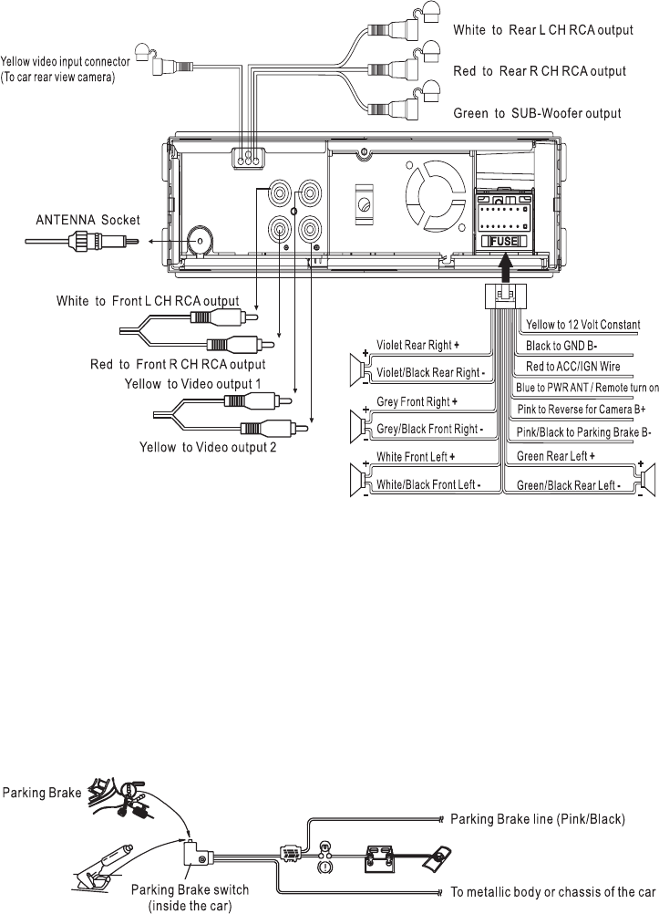 stereo switch 4x12 wiring diagram