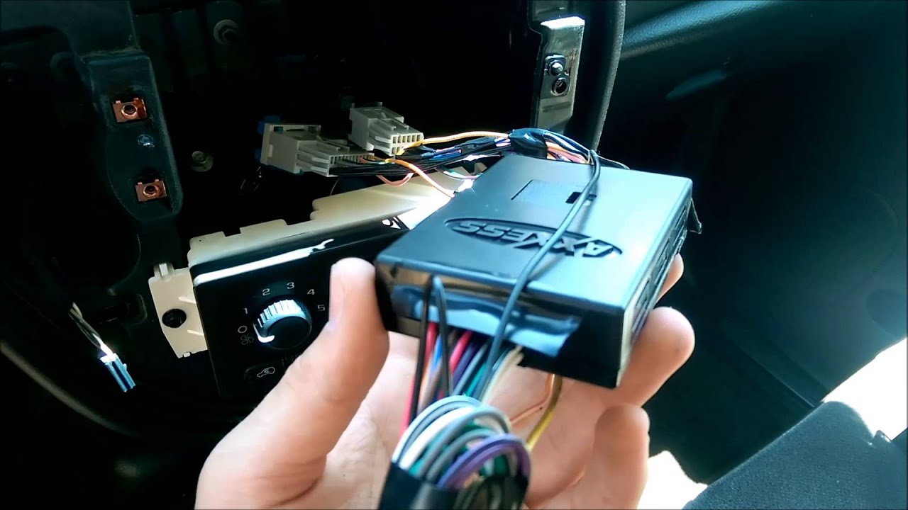 Stereo Wiring Diagram With Onstar 2004 Bravada