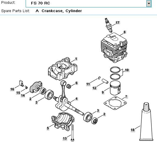 Stihl Ts420 Fuel Line Diagram