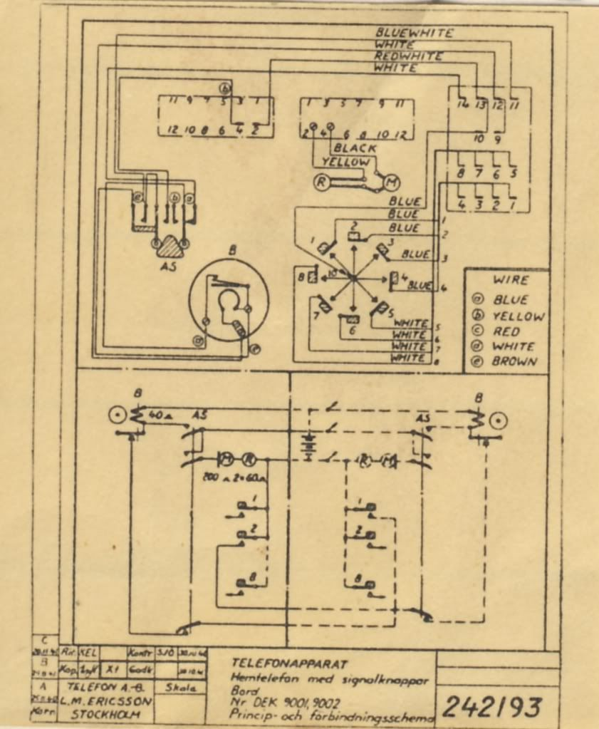 Stromberg Carlson 896 Telephone Wiring Diagram