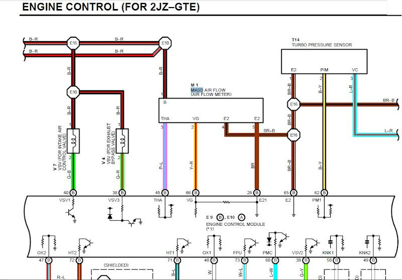 Supra 2jzge Maf Wiring Diagram