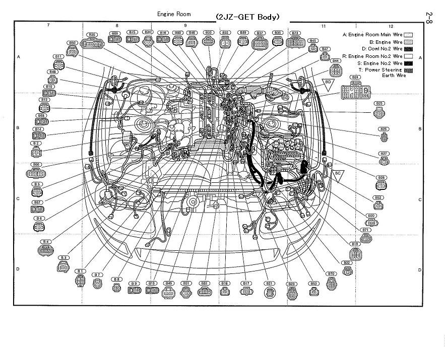 Toyota Supra Wiring Diagrams Wiring Diagram Full Hd