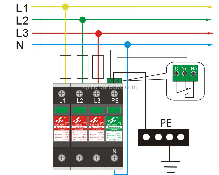 Surge Guard 41260 Wiring Diagram