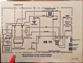 Sussman Es-72 Electric Steam Boiler Wiring Diagram