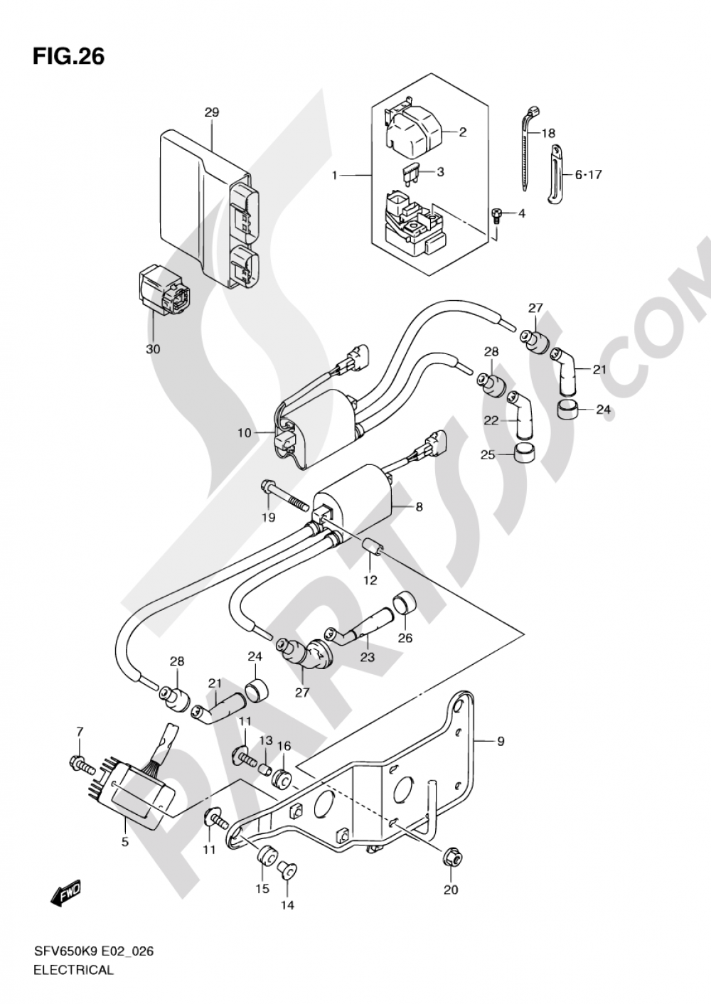 Suzuki Sfv650 Headlight Wiring Diagram