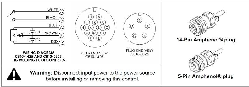 Tig Welder Foot Pedal Wiring Diagram