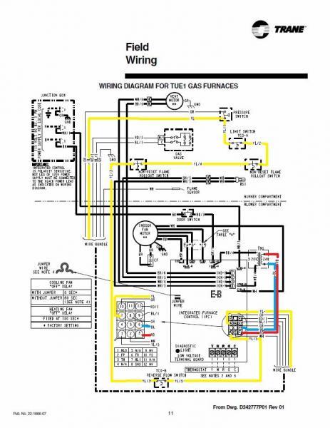 Trane 2tec3f48a1000aa Wiring Diagram