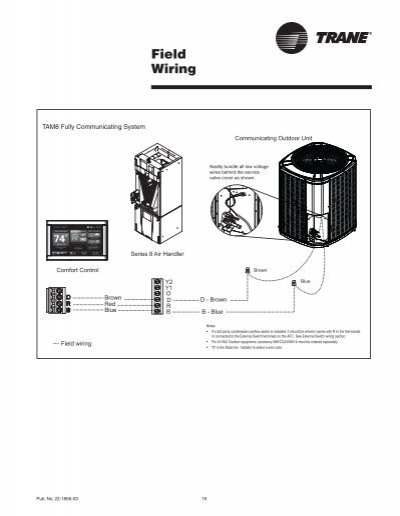 trane-tam8-aux-1-wiring-diagram-16 Rauc Wiring Diagram Trane on mua unit, electric furnace twv030, model twx, xb80 furnace, model tam7a0b30h21scb, xt500c thermostat, furnace fan, furnace thermostat, blower motor, furnace xl80, model ysc060, condensing unit,