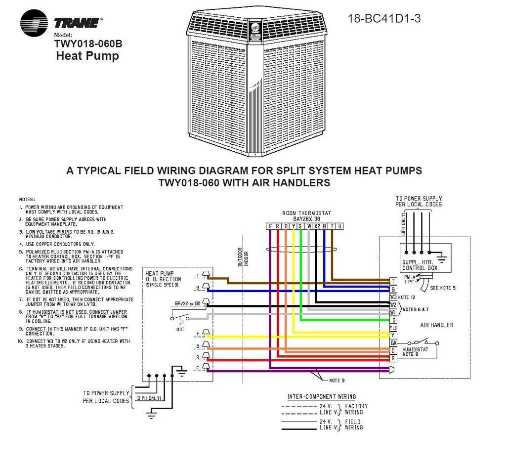 Trane Xe 1200 Wiring Diagram