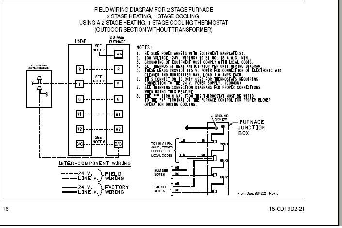 Trane Xl80 Wiring Diagram