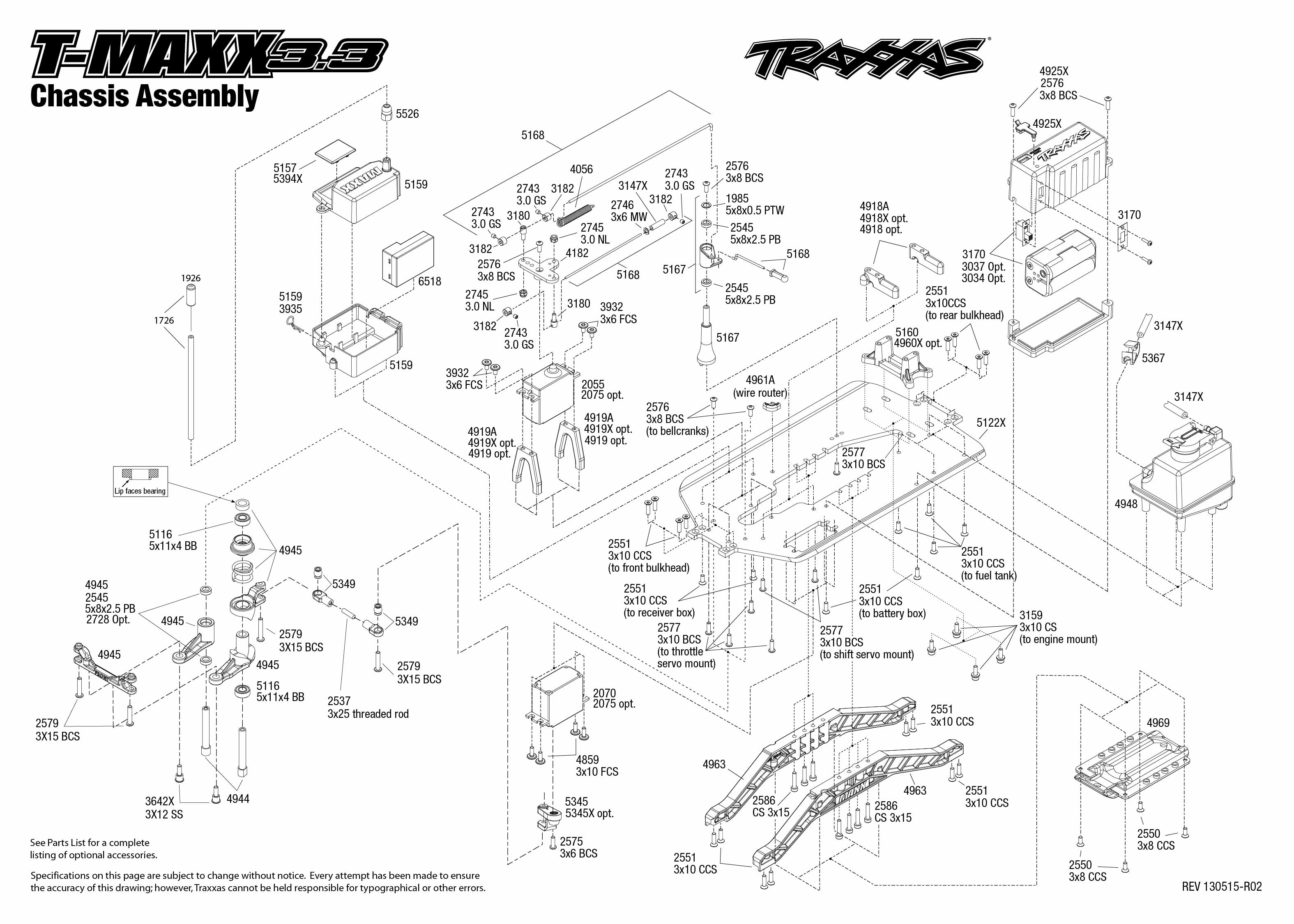 Traxxas 6518 Wiring Diagram