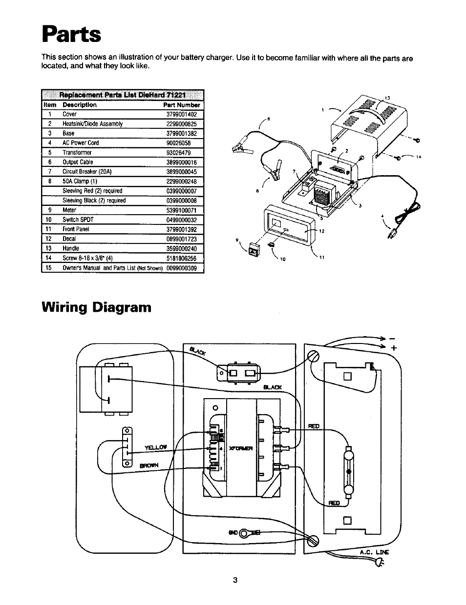 Troy 71221 Wiring Diagram