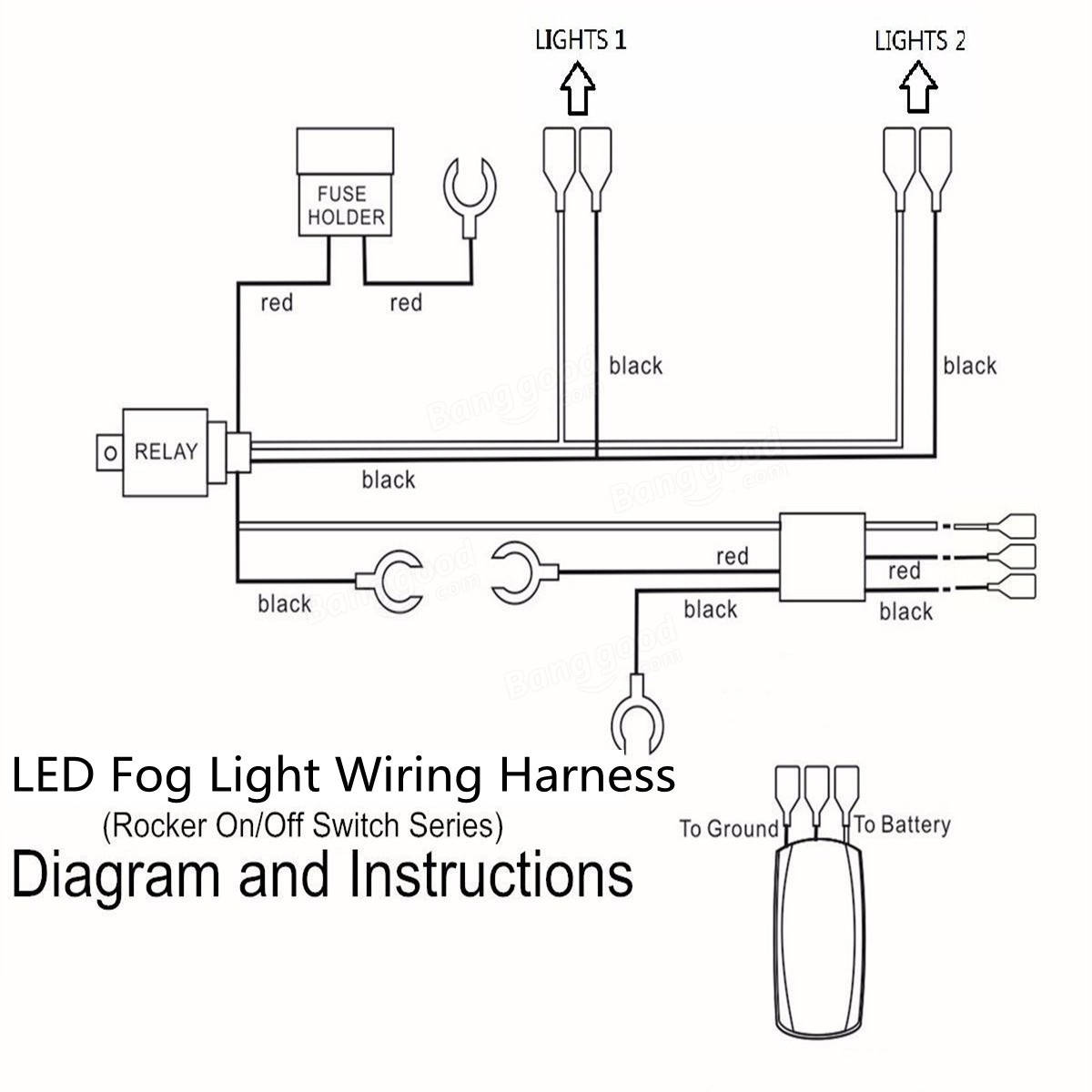 Wiring A Switch To Led Lights