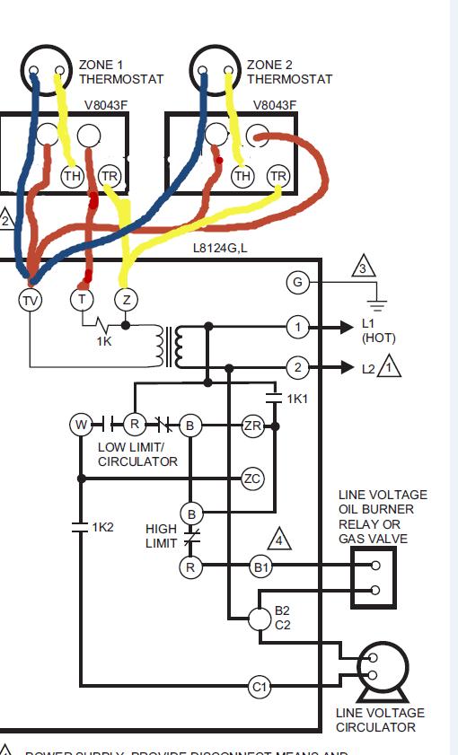 V8043e1012 Wiring