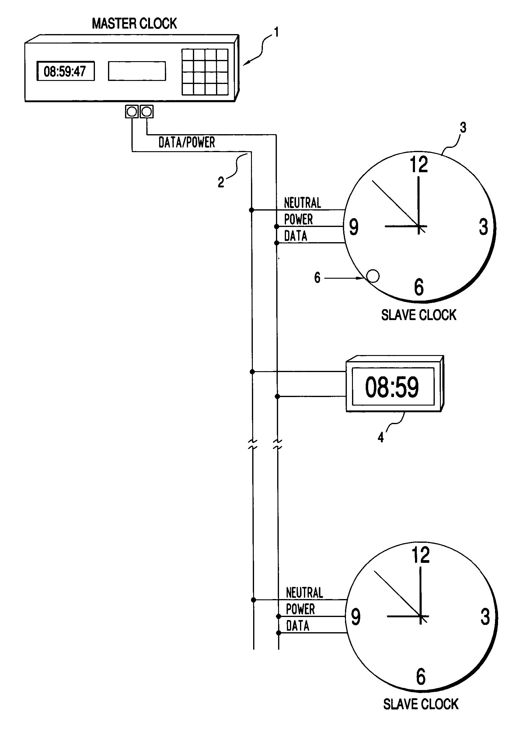 Valcom Master Clock Wiring Diagram