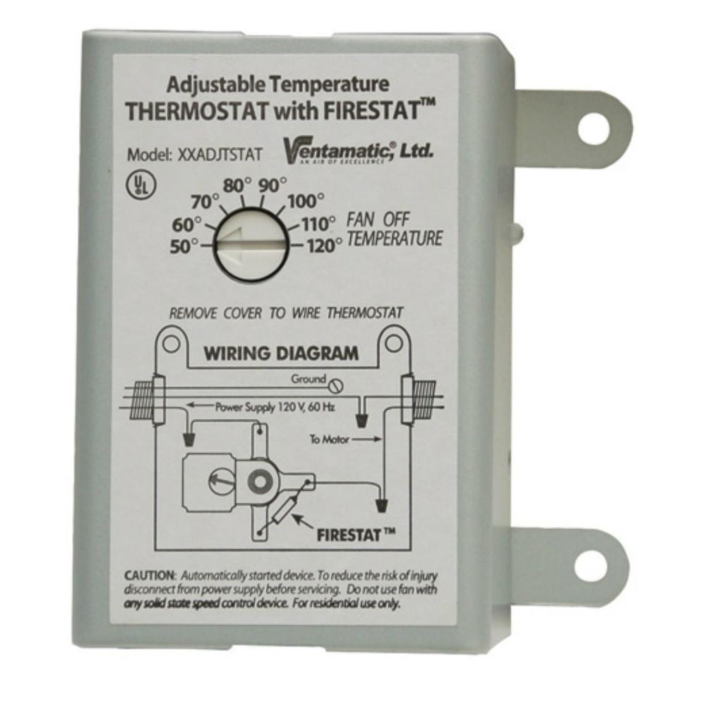 Master Flow Attic Fan Thermostat Wiring Diagram Manual Guide