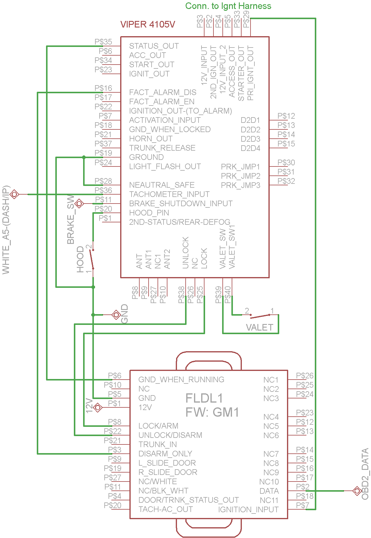 Viper 4105v Remote Start Wiring Diagram