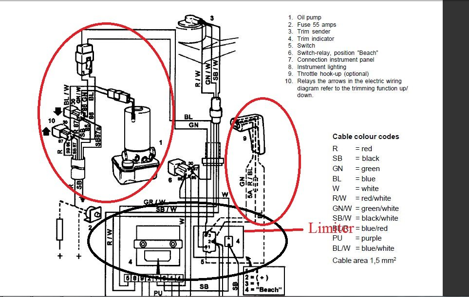 Tilt Trim Wiring Diagram from diagramweb.net