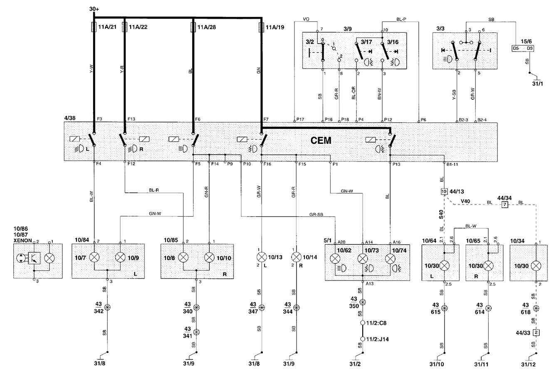 Volvo S40 Cem Wiring Diagram