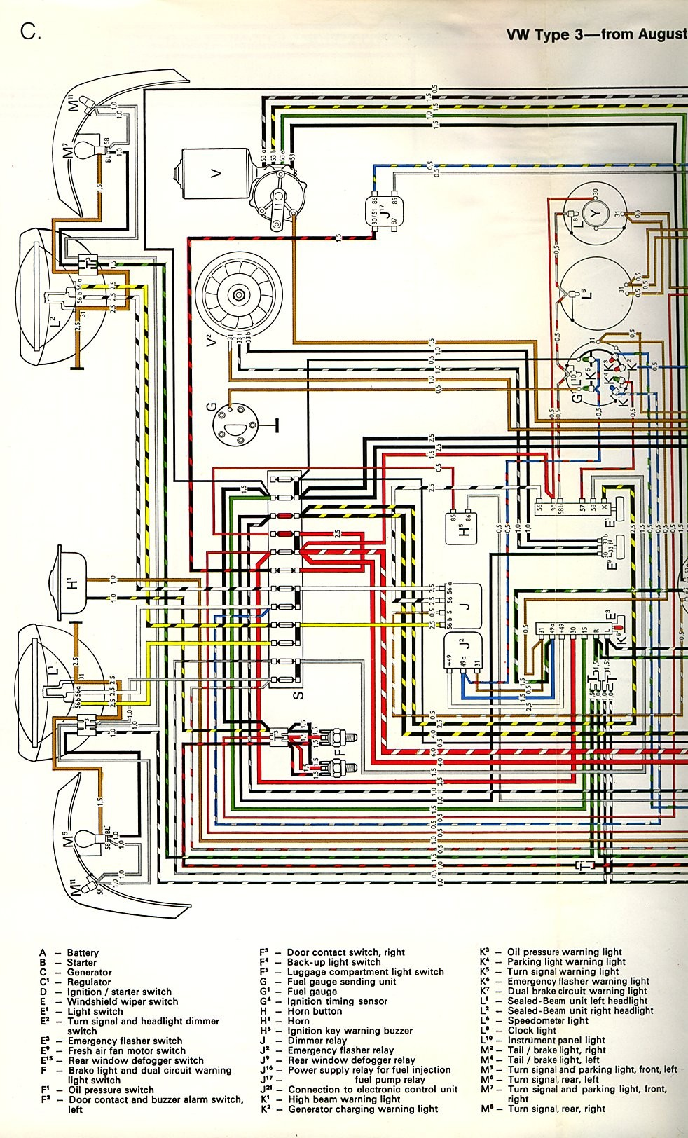 Vw 311906061 Wiring Diagram