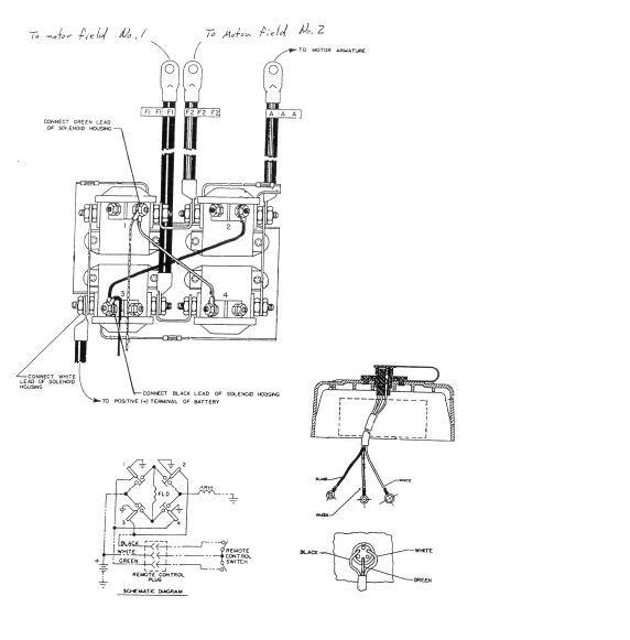Warn Winch Wiring Diagram Xd9000i