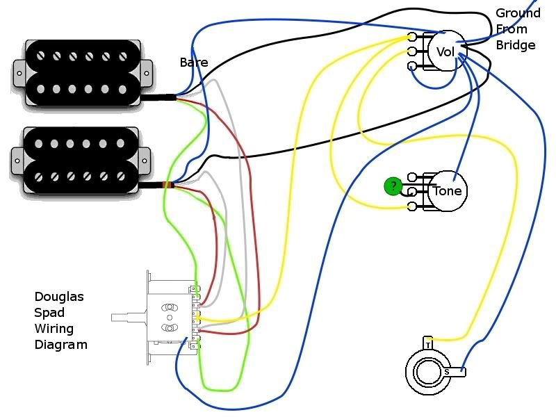 Washburn Electric Guitar Wiring Diagram from diagramweb.net