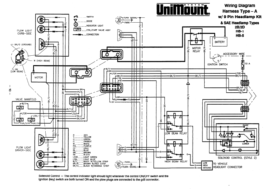 Western Uni Plow Wiring Diagram